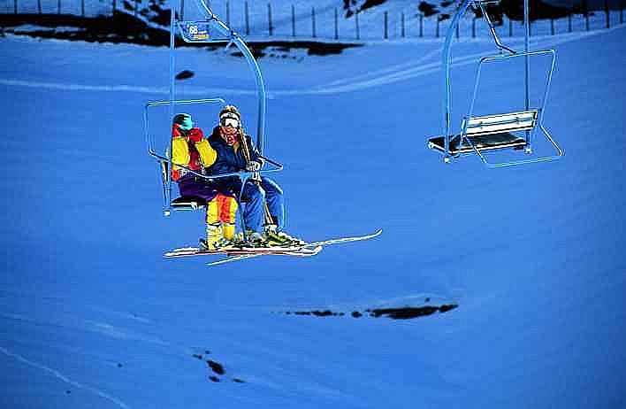 Ski lifts you spend a lot of time on lifts on a ski holiday and