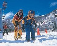 Ski School at Termas de Chill�n