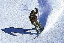 Snowboarding en Termas de Chillán